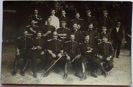 CPA Carte Photo Militaire Cavalier Cavalerie Regiment Dragon 1910 EVREUX ? Eure 27 Normandie ? - Regimenten