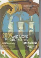 RSM - SAN MARINO 2009 - 2 Euro Anno Europeo Della Creatività E Dell'innovazione - San Marino