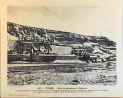 """TUNISIE - N°227 - Mine De Phosphate à METLAOUI - Collection """"Pour L'Enseignement Vivant"""" - Colonies Françaises - TBE - Collections"""