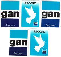 Portugal , GAN , 1988 , 1989 , 1990, 1991 ,  Calendar , Calendrier , Insurance , Assurance , Seguros - Calendari