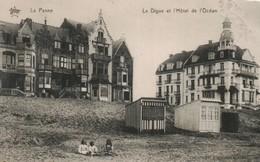 La Panne La Digue Et L Hotel De L Ocean - De Panne