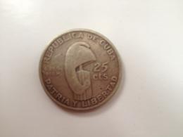 Cuba 25 Centavos 1953 - Cuba