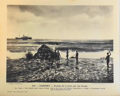 """DAHOMEY - N°237 Passage De La Barre Par Une Barque - Collection """"Pour L'Enseignement Vivant"""" - Colonies Françaises - TBE - Collections"""