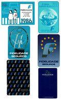 Portugal , FIDELIDADE , 1982 , 1986 , 1989 , 1990 , 1993 , 2000 Calendar , Calendrier , Insurance , Assurance , Seguros - Calendari