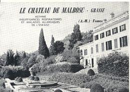 CHATEAU DE MALBOSC. SANATORIUM - Grasse