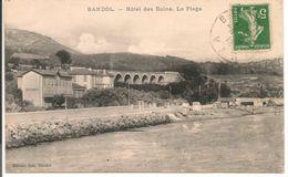 L150b285 - Bandol - Hotel Des Bains - La Plage - Editions Gos - Bandol