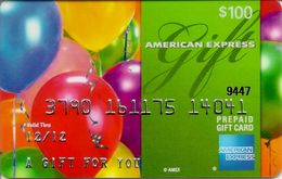 American Express GIFT Card $100 - Tarjetas De Regalo