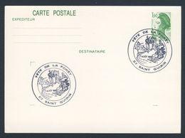 France Rep. Française 1982 Card / Karte / Carte Postale - Fête De La Forêt, Saint Quirin - Tourism Railway / Waldbahn - Treinen
