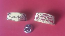 Pin's  PEUGEOT  LOT 2  Anciens  Logo - Peugeot