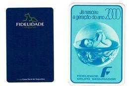 Portugal , FIDELIDADE , 1982 ,  2000 , Calendar , Calendrier , Insurance , Assurance , Seguros - Calendari