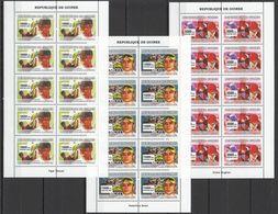 M947 2007 DE GUINEE SPORT OLYMPICS TOURIN GOLF TIGER WOODS MOTO GP 10SET MNH - Timbres