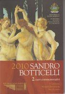 RSM - SAN MARINO 2010 - 2 Euro Sandro Botticelli - San Marino