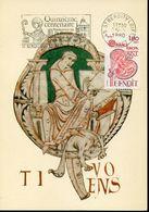 35981 France, Maximum 1980,  Saint Benoit  Manuscript De L'abbaye De Jumieges - Cristianismo
