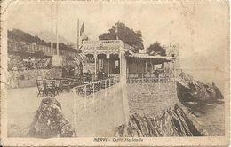 GENOVA NERVI - IL CAFFE' MARINELLA - FORMATO PICCOLO - VIAGGIATA 1926 - (rif. H06) - Genova (Genoa)