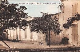 17-BALLON- MARIIE ET ECOLE - France