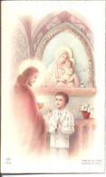 Souvenir De Communion. Robert Alain Forêt. Sainte Barbe Noeux Les Mines. 1954; - Images Religieuses