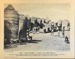"""COTE D'IVOIRE -n°252 Grenier à Mil à BOBO DIOULASSO -Collection """"Pour L'Enseignement Vivant"""" - Colonies Françaises - TBE - Collections"""