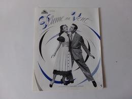"""Publicitaire Cinéma """" Plume Au Vent """" Avec Georges Guétary Et Carmen Sévilla - Cinema Advertisement"""