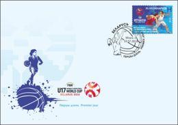 Belarus 2018 Basketball World Cup Women U17 FDC - Bielorrusia