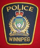 PATCH POLICE DE WINNIPEG - CANADA - Police & Gendarmerie