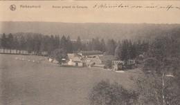 HERBEUMONT / ANCIEN PRIEURE DE CONQUES  / GUERRE 1914-18  FELDPOST  CACHET  LANDSTURM BAT - Herbeumont