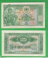 Shqipëria Albania 100 Leke 1957 - Albania