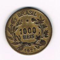 -&   BRAZILIE  1000  REIS 1927 - Brésil