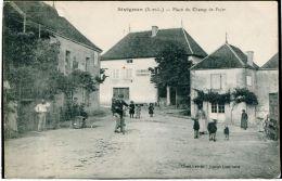71 - SIVIGNON -Place Du Champ De Foire - France