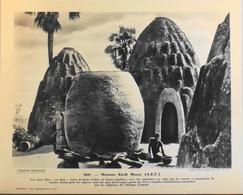 """A.E.F. - N°260 Maisons KIRDI MASSA - Collection """"Pour L'Enseignement Vivant"""" - Colonies Françaises - TBE - Collections"""