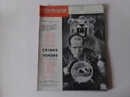 """Magazine """" Le Film Français """" N° 264 Décembre 1949 """" Crimes à Vendre """" - Magazines"""
