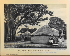 """TOGO - N°262 Femmes Et Enfants KONKOMBAS - Collection """"Pour L'Enseignement Vivant"""" - Colonies Françaises - TBE - Collections"""