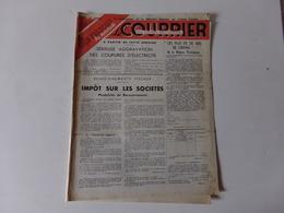 """Magazine """" Le Courrier Du Centre Du Cinéma """" Novembre 1949 - Magazines"""