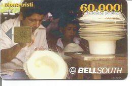 Télécarte D'EQUATEUR - FABRICATION DES CHAPEAUX PANAMA (BELLSOUTH 60 000 Sucres) - Ecuador