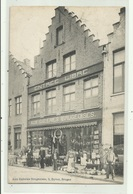 Bruges - Aux Galerie Brugeoises  , Uitg Galerie Brugeoises, Dyver,5 - Verzonden 1911 - Brugge