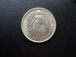 SUISSE : 2 FRANCS   1969 B    KM 21a.1      SUP - Switzerland