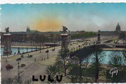 DEPT 75 : Paris 07 : édit. A Leconte N° 4034 : Le Pont Alexandre III Et L Esplanade Des Invalides - Paris (07)
