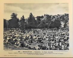 """MADAGASCAR - N°265 Le Zoma (marché) à TANANARIVE - Collection """"Pour L'Enseignement Vivant"""" - Colonies Françaises - TBE - Collections"""