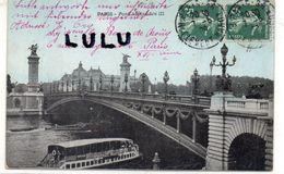 DEPT 75 : Paris 07 : édit. ? : Le Pont Alexandre III - Paris (07)