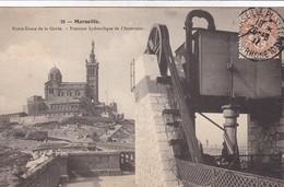 13 / MARSEILLE / NOTRE DAME DE LA GARDE / PRESSION HYDRAULIQUE DE  L ASCENSEUR / NANCY 20 - Marseille