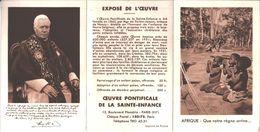 Oeuvre Pontificale De La Sainte Enfance. 1955. Paris 16. Fondée En 1843. - Images Religieuses