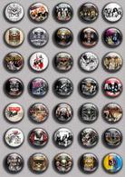 Guns N' Roses Band Music Fan ART BADGE BUTTON PIN SET 2 (1inch/25mm Diameter) 35 DIFF - Music