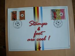 Belgique Carte Souvenir Football Belgique - Pays-Bas. 2892HK - Souvenir Cards