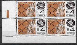 1981 MEXIQUE 919**  Exportations, Carrelage, Bloc De 4 - Mexique