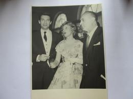 Photo Michele Morgan Et Charles Boyer - Célébrités
