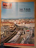 Vie Du Rail 944 1964 Ruoms Vallon  Saint Raphael Valescure Academie Française  Louis Armand La Gare De Fréjus - Trains