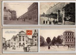 JOLI  LOT DE 20 C.P.A. FRANCAISES, TOUTES ANIMEES.TOUTES SCANNEES ( Les Cartes En Photo Sont Présentes Dans Ce Lot ) - Cartes Postales