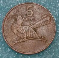 Botswana 5 Thebe, 1991 ↓price↓ - Botswana