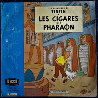 Hergé - Les Aventures De TINTIN - Les Cigares Du Pharaon - Disque 33 Tours - DECCA - TIN - 1 - - Vinyl Records