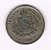 -&   BRAZILIE  100  REIS  1886 - Brazil