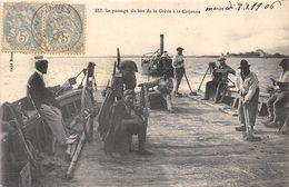 17-LE PASSAGE DU BAC DE LA GREVE A LA CAYENNE - France